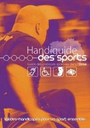 Handiguide des sports - Conseil Général de l'Orne