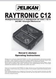 Raytronic C12 manual - RCM Pelikan