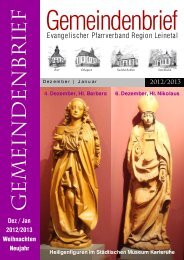 Gemeindenbrief Leinetal Dez.12-Jan13