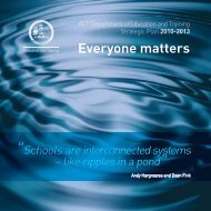 Strategic Plan 2010-2013: Everyone matters - Education and ...