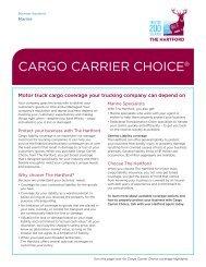 Cargo Carrier Choice - The Hartford