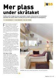 Mer plass under skråtaket.pdf - Huseiernes Landsforbund