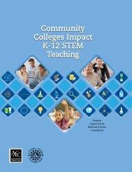 Community Colleges Impact K-12 STEM Teaching - American ...