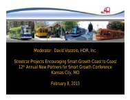 Vozzolo - New Partners for Smart Growth Conference