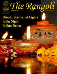 Diwali: Festival of Lights India Night Indian Dance - The Overseas ...