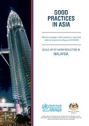 Good practices in Asia - WHO Western Pacific Region - World ...