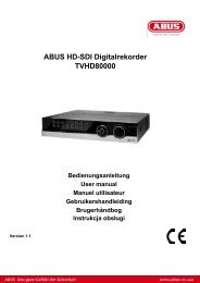 ABUS HD-SDI Digitalrekorder TVHD80000