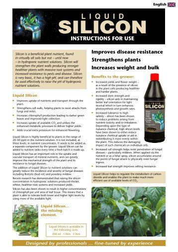 UK Instructions Download - Growth Technology