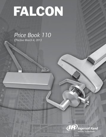 FALCON MARCH 2013 PRICE BOOK.pdf - Access Hardware Supply