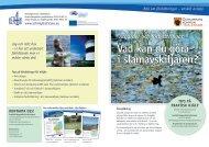 Vad kan du göra i slamavskiljaren? - Act 4 my Baltic Sea