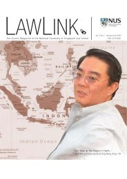 Vol 2 No. 1 January - June 2003 - Faculty of Law - National ...