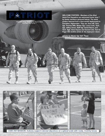 July - Westover Air Reserve Base, Mass