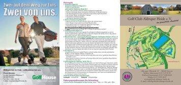 Spieler - Golfclub Aldruper Heide