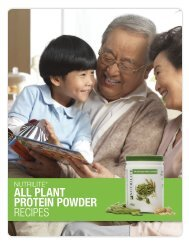 All Plant Protein Powder Recipes - Amway