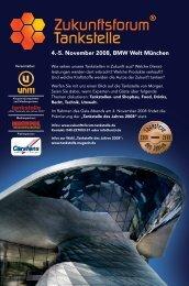 4.-5. November 2008, BMW Welt München - Zukunftsforum Tankstelle
