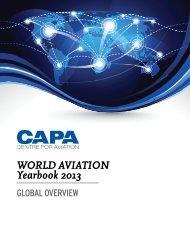 WORLD AVIATION Yearbook 2013 - CAPA