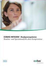 Routine- und Spezialanalytik ohne Kompromisse - Roche Diagnostics