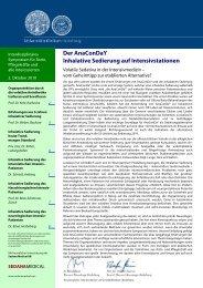 Infos zum Download - Gesundheits-Cluster