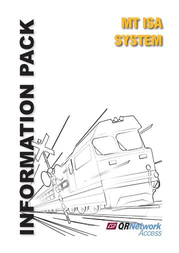 Mt Isa System Information Pack - Issue 2.1 - May ... - Queensland Rail