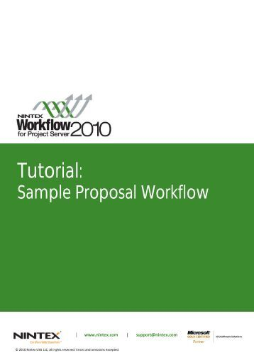 Tutorial proposal form ccnc 2006 for Sample workflow document
