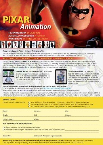 PIXAR Animation - Infomedia-sh.de