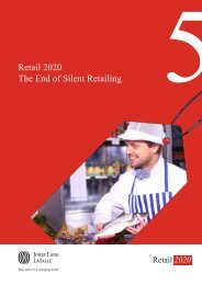 JLL Ch5 Retail 2020 The End of Silent Retailing - BID Leamington