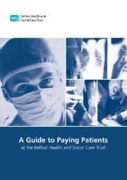 Belfast Trust Guide to Paying Patients handbook - Belfast Health ...