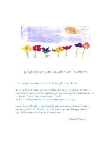 JUGANDO CON EL ALMA EN EL CUERPO - Cap-C