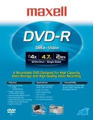 DVD-R - Maxell Canada
