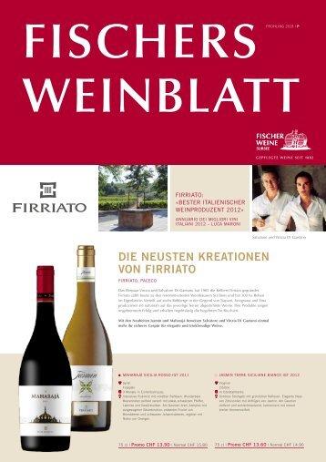 fischers weinblatt - Fischer Weine