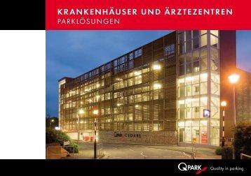 KRANKENHÄUSER UND ÄRZTEZENTREN - Q-Park GmbH & Co. KG