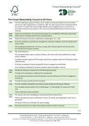 FSC Historical Highlights PDF, Size: 65,41 KB Added - Forest ...