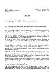 Vorlage an den Landrat in Göttingen vom 28.09.2011 - DIE LINKE ...