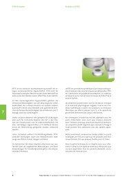 PTFE-Produkte - bei der kubo gruppe