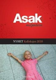 Asak miljøstein - kolleksjon 2010 - Bygg uten grenser