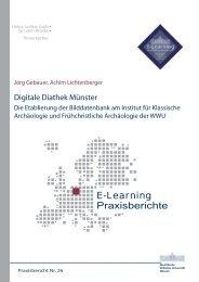 E-Learning Praxisberichte - ERCIS