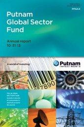 Annual Fund Report - Putnam Investments