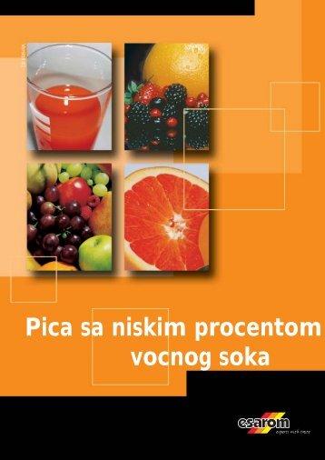 Pića sa niskim procentom voćnog soka - Citrus DOO Novi Sad
