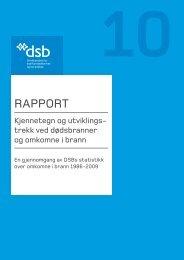 RAPPORT - Direktoratet for samfunnssikkerhet og beredskap