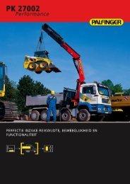bijlage: Brochure PK 27002 - Palfinger