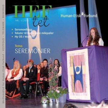 HEFtet 1-2012 - Human-Etisk Forbund