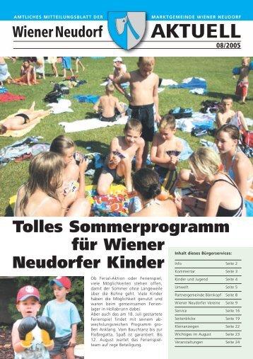 Neu in Wiener Neudorf - RiSKommunal