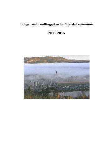 Forslag til boligsosial handlingsplan 2011 - 2015 - Stjørdal kommune
