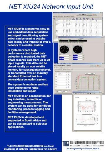 NETXIU - Network Input Unit (pdf download 600kb) - TLC ...