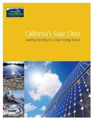 California's Solar Cities / Leading the Way to a Clean Energy Future