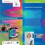 Zukunftschance: Nanotechnologie Der ... - nanoproducts.de