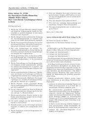 Kleine Anfrage Nr. 15/206 der Abgeordneten Claudia Hämmerling ...