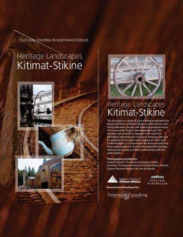Heritage Landscapes Kitimat-Stikine Brochure - City of Terrace