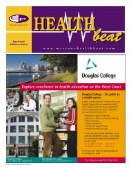 March 2006 Volume 9, Issue 3 - McCrone Healthbeat