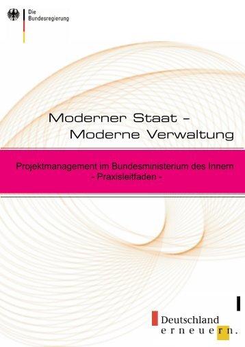 Moderner Staat - Moderne Verwaltung